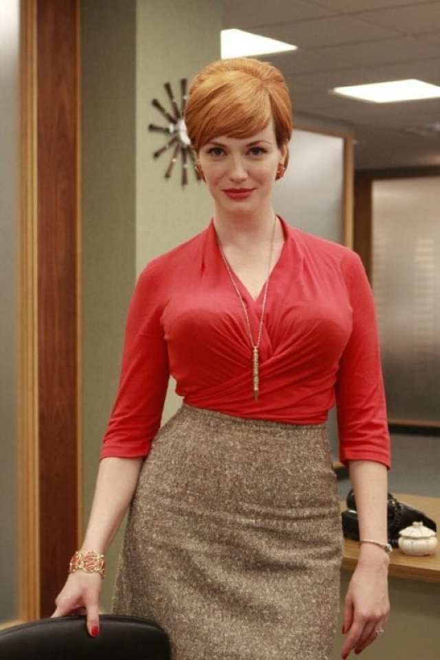 Joan Holloway played by Christina Hendricks in Mad Men
