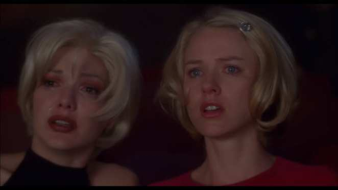 Laura Harring and Naomi Watts in Mulholland Drive