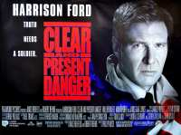 Original Clear and Present Danger Poster