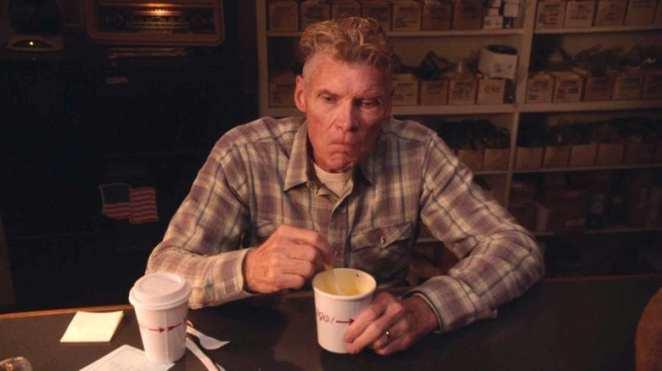 Big Ed eats soup