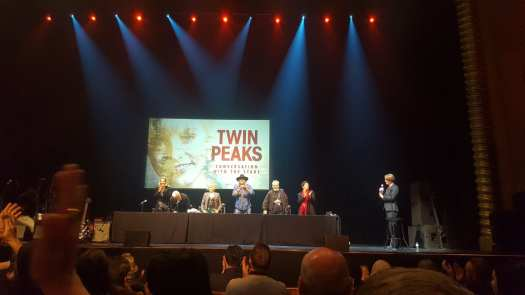 The cast of Twin Peaks on stage at Conversations with the Stars, Melbourne