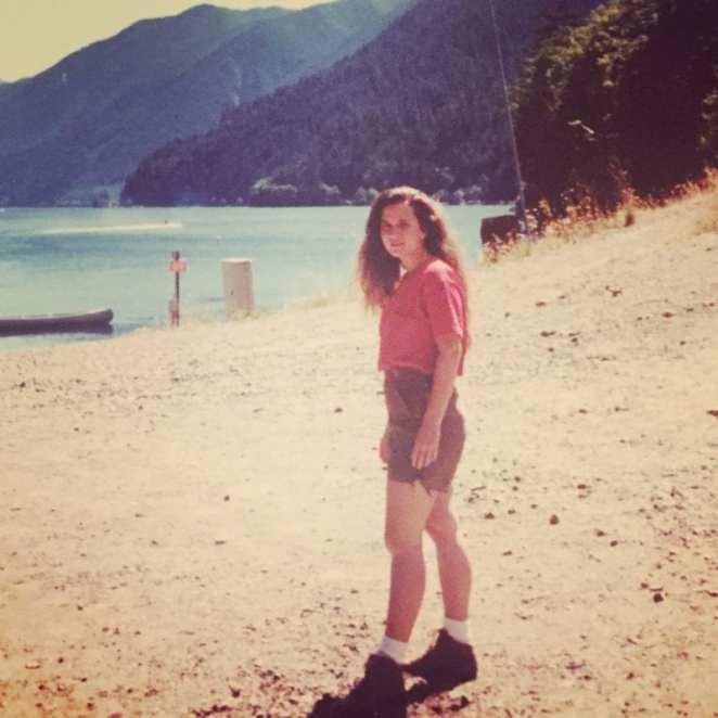 Courtenay in Washington 1992