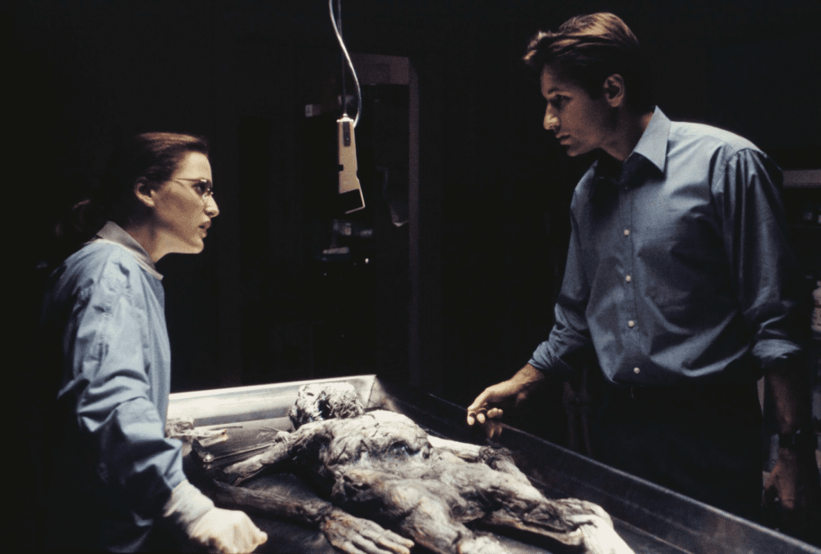 Negative Space: Truth and Shadows in The X-Files