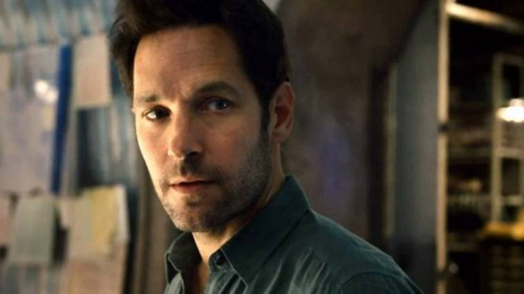 Paul Rudd as Ant Man looking moody