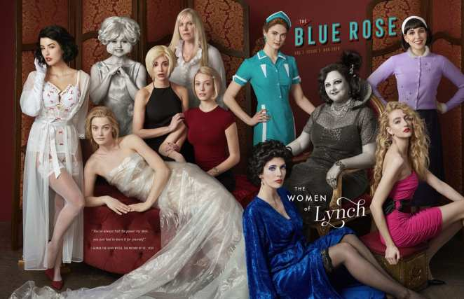 Blue Rose Magazine, Women of Lynch cover
