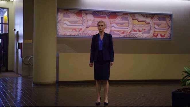 "Kim stands in shock after Jimmy reveals his inner Saul Goodman in ""Winner"""