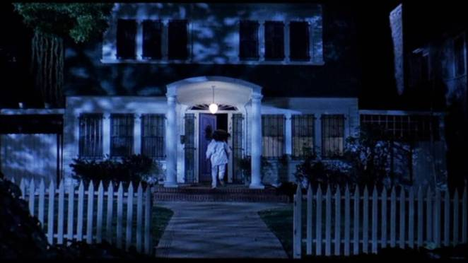 Nancy Thompson's house in Wes Craven's New Nightmare in the movie