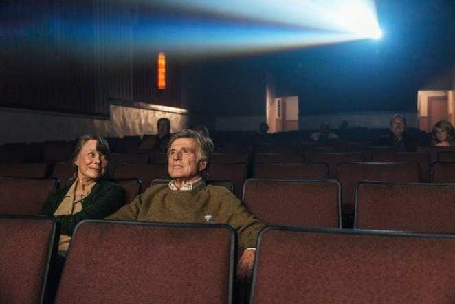 Sissy Spacek and Robert Redford in The Old Man & the Gun