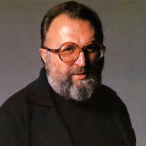 Italian director Sergio Leone poses for a picture.