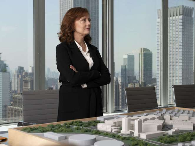 Hollywood mogul Samantha Winslow (Susan Sarandon) in Ray Donovan Season 6