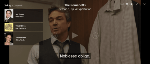 Eric or Peter Ford? Strange name discrepancies in The Romanoffs, 'Expectation'