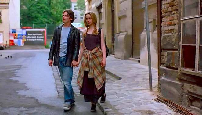 Jesse and Celine in Before Sunrise