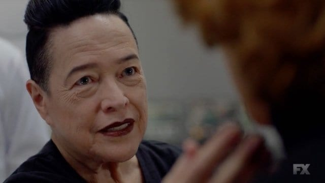 Miriam , played by Kathy Bates in American Horror Story Apocalypse