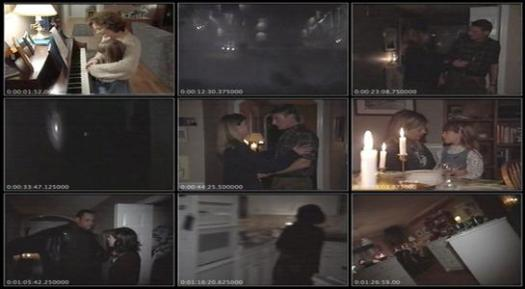 A collection of screenshots from the movie Alien Abduction: Incident at Lake County
