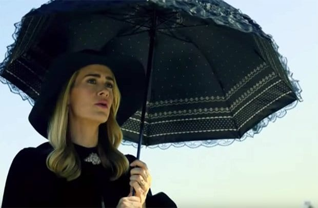 Cordelia, played by Sarah Paulson, in American Horror Story: Apocalypse