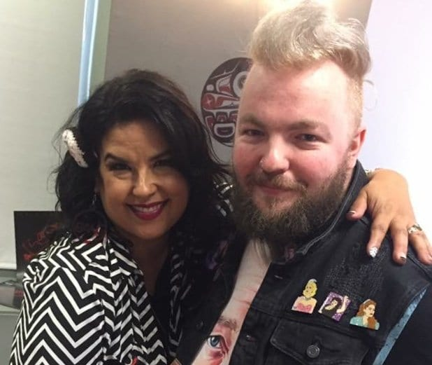 Rebekah Del Rio and Martin Hearn at the Twin Peaks UK Festival 2018