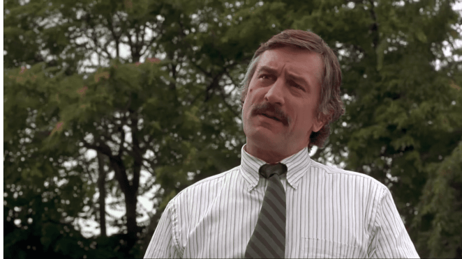 Robert De Niro as Moe Tilden in Cop Land