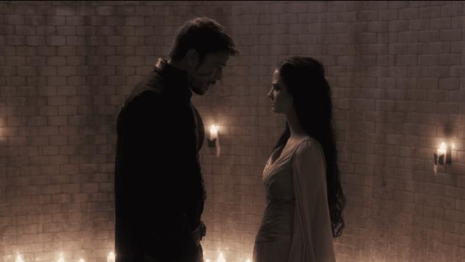Vanessa (Eva Green) begs Ethan (Josh Hartnett) to end her life in the season 3 finale of Penny Dreadful
