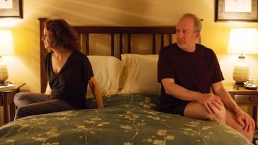 Debra Winger and Tracy Letts in The Lovers