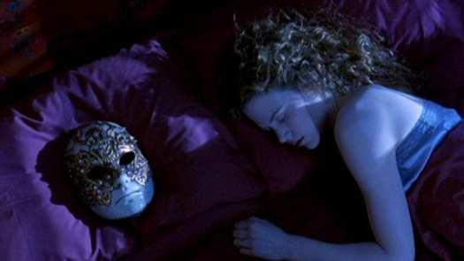 Alice Hartford's dreams are unknown but Bill will awaken them both soon in Eyes Wide Shut.