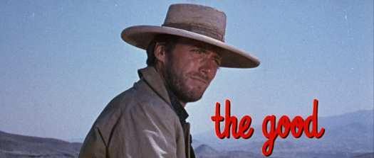 """Clint Eastwood as """"Blondie"""" in The Good, the Bad and the Ugly"""
