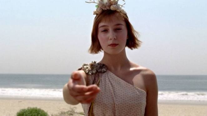 A young Gillian Darmody takes Nucky Thompson's hand believing he'll look after her. Boardwalk Empire finale