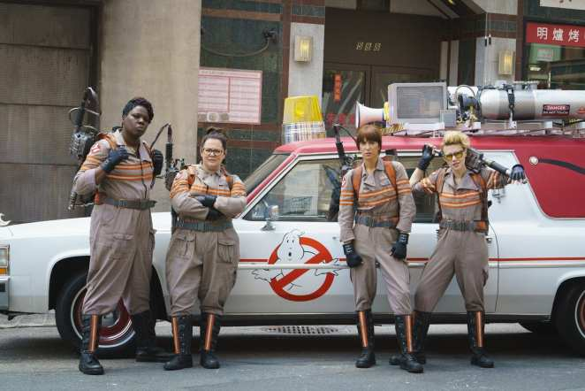 Female Cast of 2016's Paul Feig directed Ghostbusters