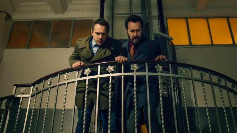 Claudio Santamaria and Marco Giallini in Forgive Us Our Debts