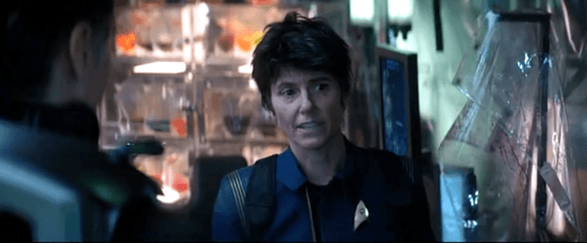 Tig Notaro is Commander Jett Reno in Star Trek Discovery