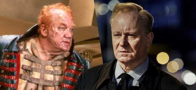 Lynch's Harkonnen and Stellan Skarsgard Villeneueve's Baron Harkonnen