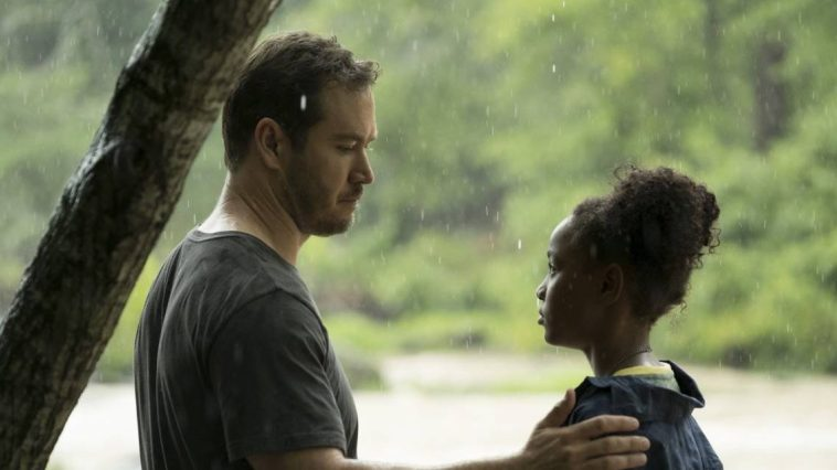 Wolgast talks to Amy in the rain