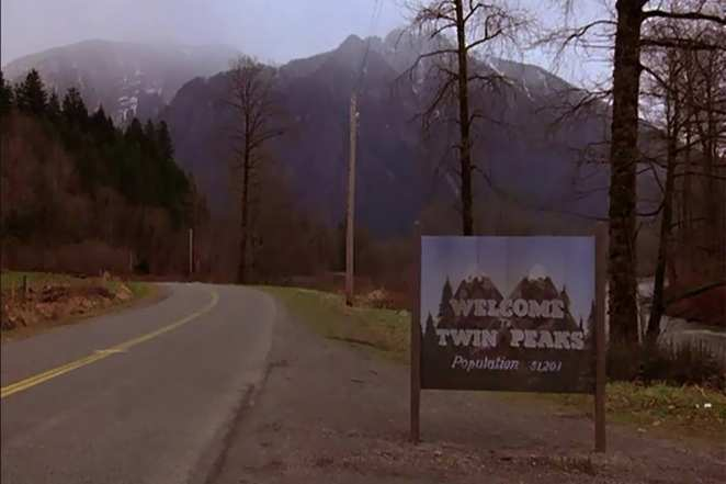Welcome to Twin Peaks, population 51,201