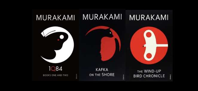 Murakami - 1Q84, Kafka on the Shore, The Wind-Up Bird Chronicle
