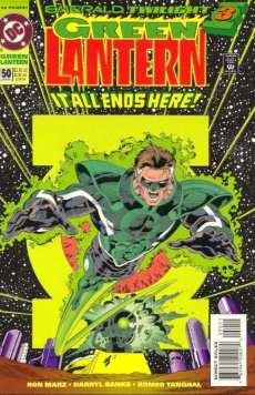 Green Lantern #50, DC Comics, art by Darryl Banks and Romeo Tanghall