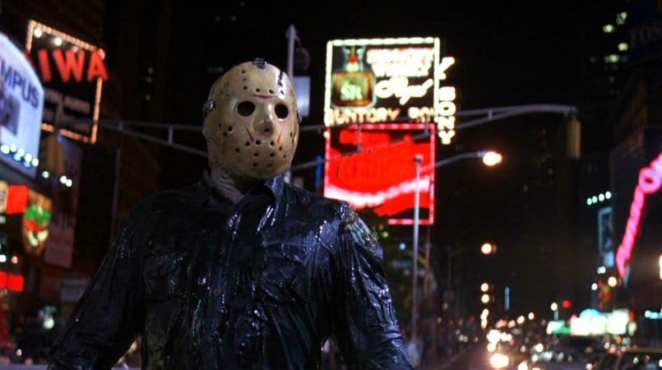 Jason Voorhees fits in perfectly in downtown New York in Friday the 13th Part VIII: Jason takes Manhattan