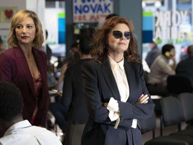 Samantha Winslow and Anita Novak in Episode 10 of Ray Donovan Series 6 'Baby'