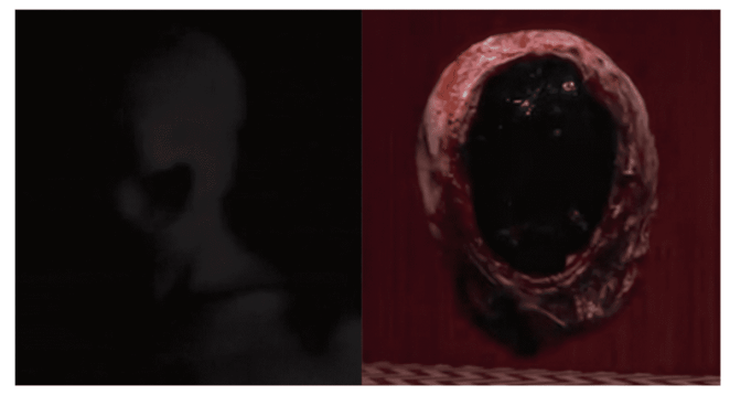 the experiment and the nugget from which diane appeared in Twin peaks