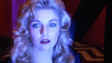 Laura Palmer, in the Red Room, waiting for her angel