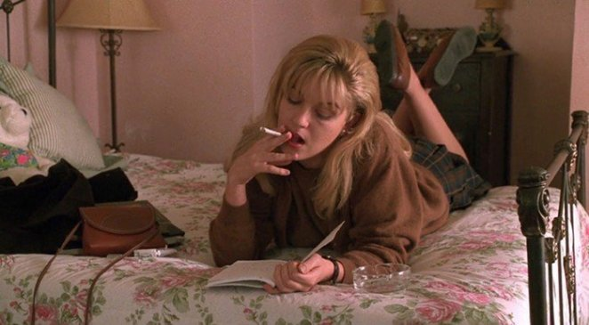 Laura Palmer with her secret diary in Twin Peaks: Fire Walk With Me