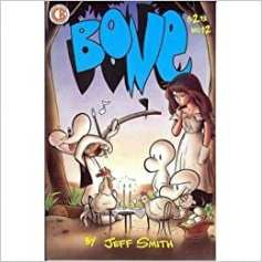 Bone #12 cover art, Cartoon Books, Jeff Smith art