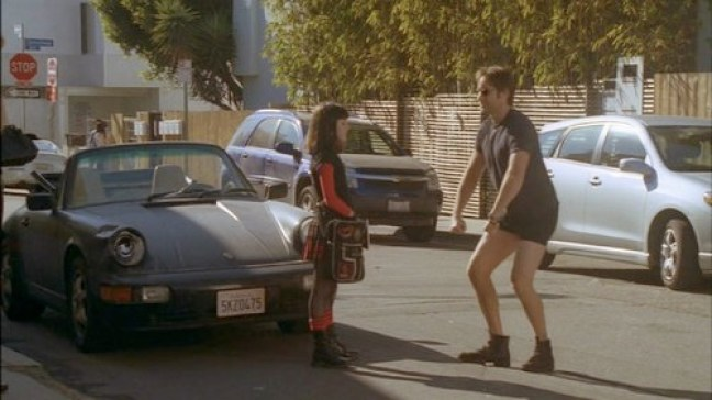 David Duchovny and Madeleine Miller in Californication on Showtime