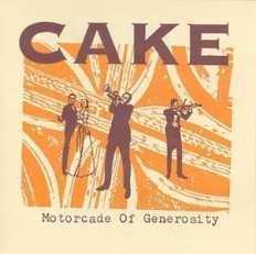 Cake Motorcade of Generosity album cover