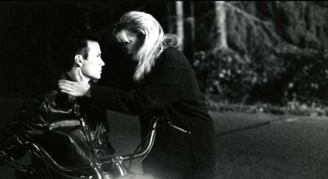 Laura Palmer saying goodbye to James Hurley in Twin Peaks: Fire Walk With Me