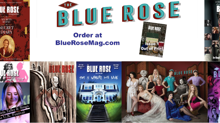 blue rose magazine covers