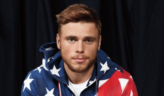 Olympic skier Gus Kenworthy who recently joined the cast of American Horror Story