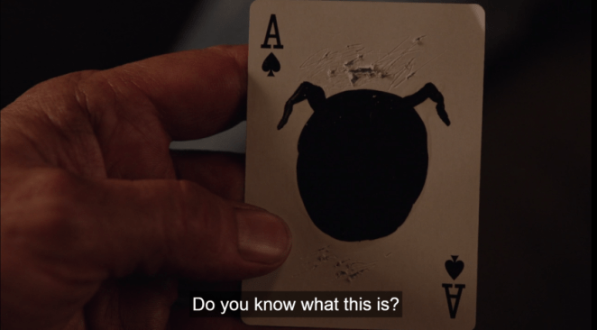 Mother playing card, Twin Peaks