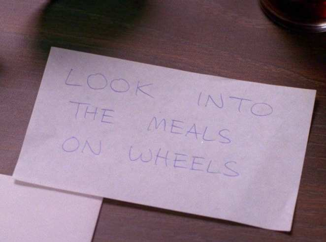 look into the meals on wheels twin peaks