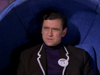 The first new Number Two is seen in the first episode of The Prisoner