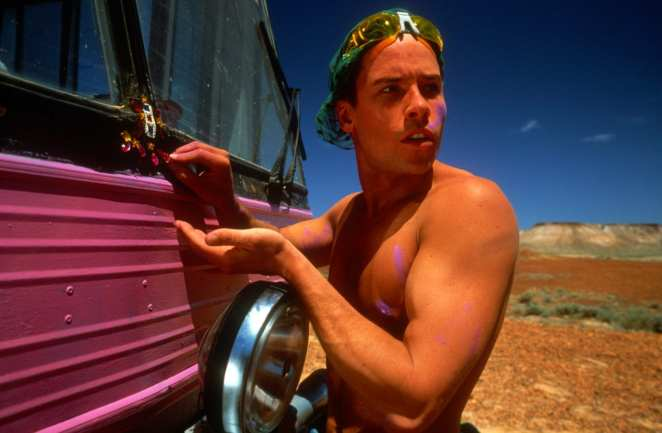 Guy Pearce stars as 'Adam' in The Adventures of Priscilla, Queen of the Desert