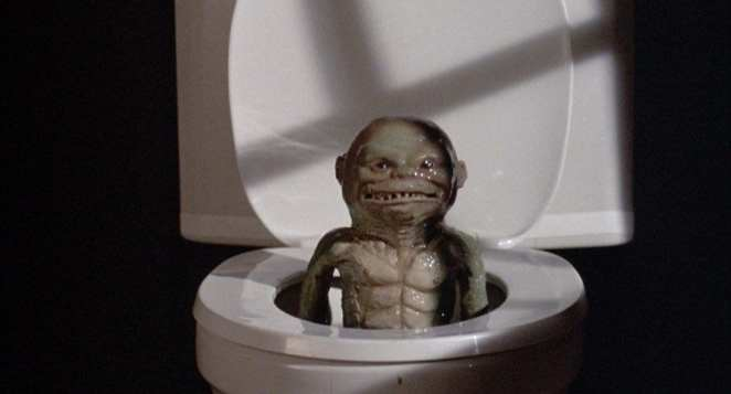 Ghoulies in the toilet